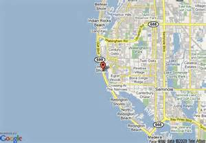 map of indian shores florida resorts indian shores indian rocks deals