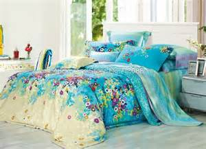Colorful Bed In A Bag Sets Beds Us Picture More Detailed Picture About Quality Cotton Colorful Flower Floral Pattern Blue