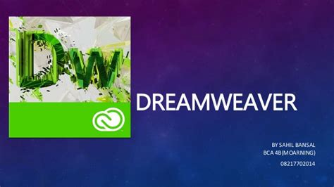 dreamweaver tutorial introduction dreamweaver introduction and walkthrough