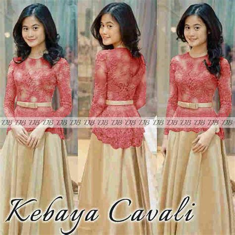 Baju Dress Gamis Ethica Gct 21 Toska baju kebaya muslim desain modern model terbaru murah