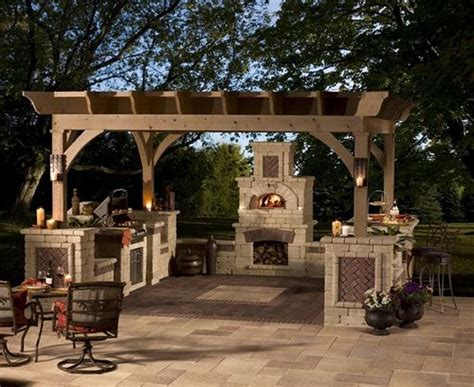 tuscan backyard outdoor tuscan kitchen my style pinterest