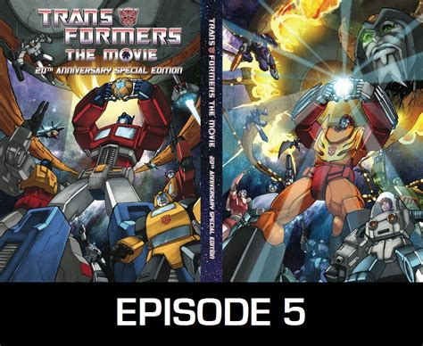 Transformers Movie 1986 Film Episode 05 Transformers Movie 1986 Commentary Charlie S Geekcast