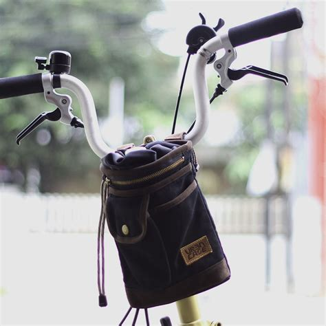 Tas Seatpost jual tas sepeda lipat brompton dahon bike friday birdy