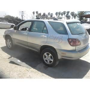 Used Lexus Rx300 Parts Used 1999 Lexus Rx300 Parts Car Silver With Gray