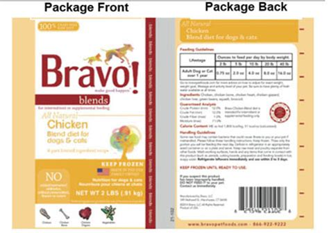 Food Bravo Puppy Premium Organic 20kg bravo chicken blend diet for dogs cats recalled the paws mahal