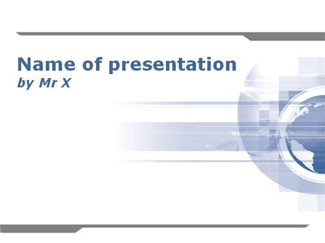Earth Graphical Pattern Powerpoint Template Themes For Business Presentation