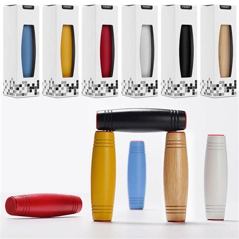 desk stress relief toys new fidget roller stick toy flip trick rolling adhd