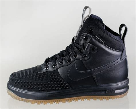 nike lunar 1 duckboot black gum shoes