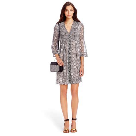 Dvf Dresses by Diane Furstenberg Layla Silk Chiffon Tunic Dress In