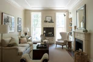 living shaker style traditional room