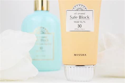 Jual Missha All Around Safe Block missha all around safe block reviews haul sonnenschutz