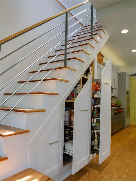 Stairs Pantry Ideas by Slide Out Storage Stairs Home Design Ideas Pictures