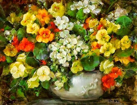 imagenes de flores para pintar al oleo im 225 genes arte pinturas arreglos florales para pintar al