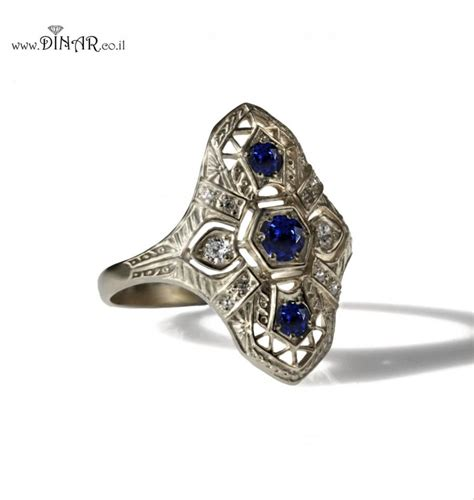 antique sapphire engagement rings www pixshark