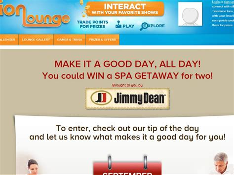 Iontelevision Com Sweepstakes - ion television s make it a good day all day sweepstakes