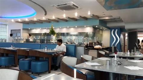 blue restaurant blue theme picture of blue restaurant united 21 thane tripadvisor