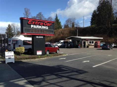 car airport parking sea seattle reservations reviews