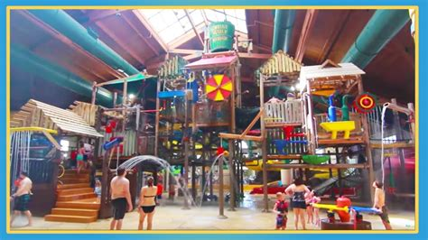 great wolf lodge indoor waterpark youtube