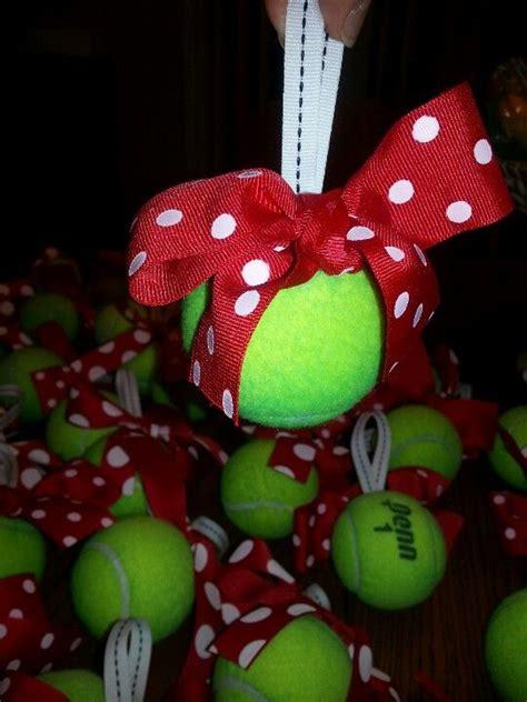 diy tennis ball ornament  tree wouldnt   minutes