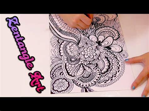doodle speed drawing 191 que es zentangle y como se hace speed drawing doodle