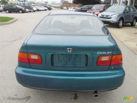 1995 honda civic colors 1995 paradise blue green pearl honda civic ex coupe