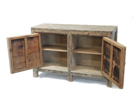 Antique Medium Size Media Cabinet Sideboard Buffet With Buffet Media Cabinet