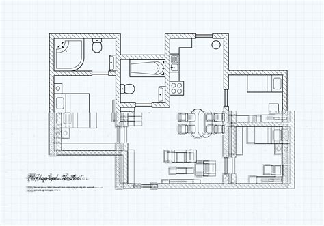design floor plans for free floorplan of a house vector free vector stock graphics images