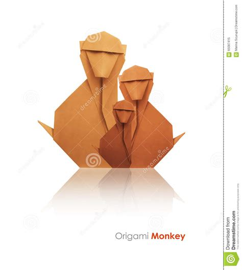 How To Make Origami Monkey - paper origami monkey comot