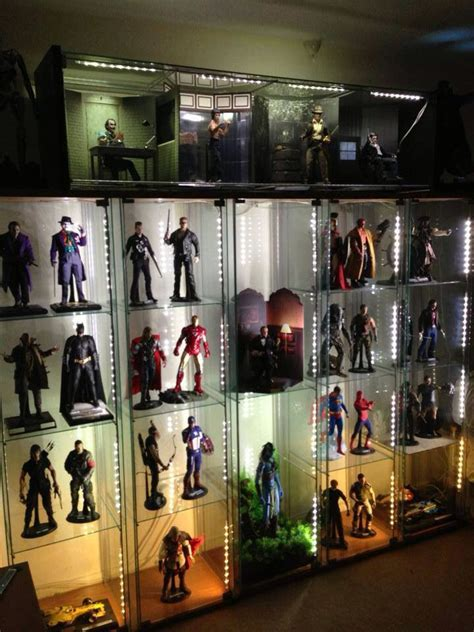 45 best images about Action Figure Display Ideas on