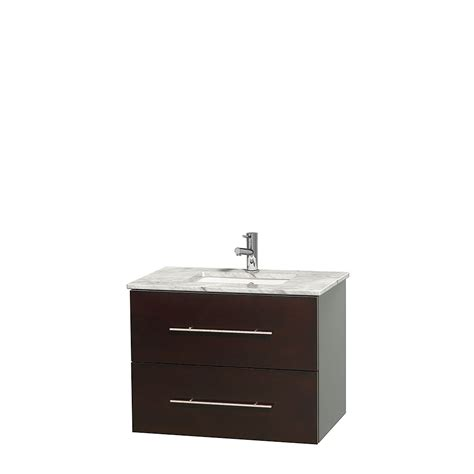 30 Inch White Bathroom Vanity Wyndham Collection Wcvw00930sescmunsmxx Centra 30 Inch Single Bathroom Vanity In Espresso White