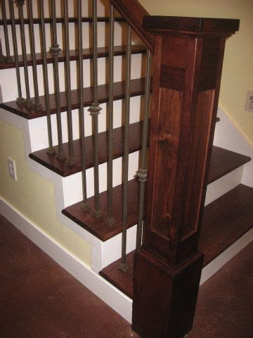 banister styles craftsman style banister no place like home great rooms interior