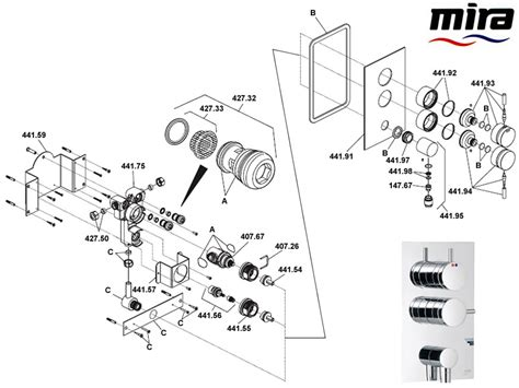 Mira Shower Spare Parts by Mira Form Shower Spares And Parts Mira Form National