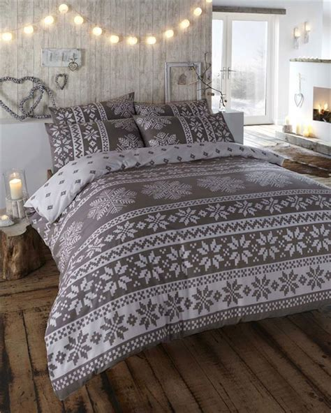 Gray Quilt Bedding by New Grey Alpine Design Bedding King Size Quilt Duvet
