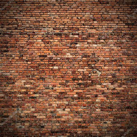 backsteinwand innen rote backstein wand textur grunge hintergrund mit ecken