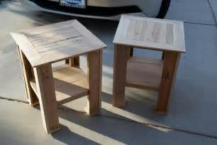 side table designs 10 recycled pallet side table plans recycled pallet ideas