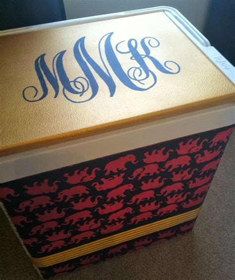 ready to paint coolers 17 best images about project esky on crafting