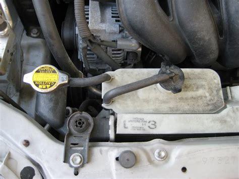Toyota Engine Coolant Toyota Corolla Coolant Change Radiator Drain Refill Guide 002