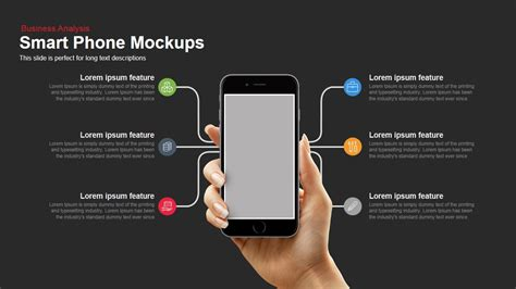 smartphone mockup powerpoint and keynote template