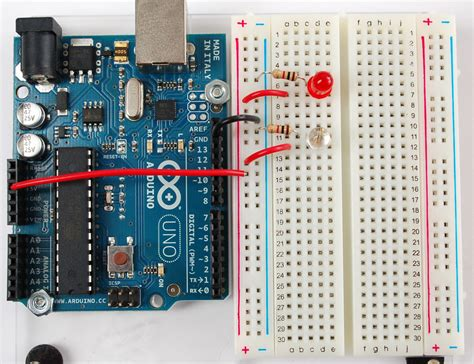 arduino resistor for led tutorials learn arduino leds html adawiki