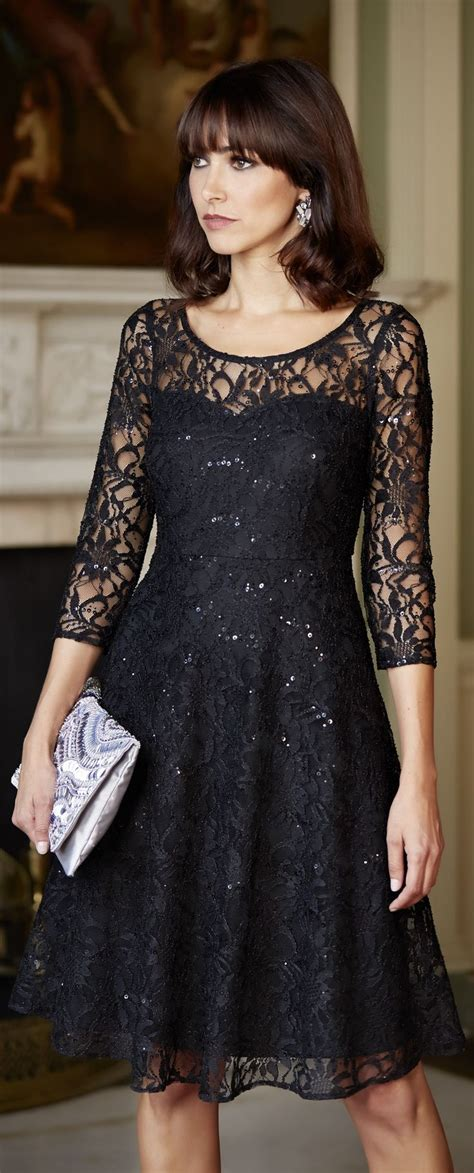black dress perfect   fall wedding easy