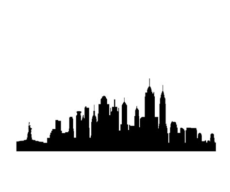 Skyline Outline by Seattle Skyline Outline Cliparts Co