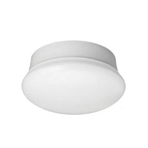 commercial electric 7 in daylight white led flushmount