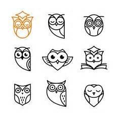 owl tattoo minimalist cartoon owls and owlets cartoon owls