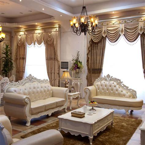 2015 luxury european style dermal sofa sitting room
