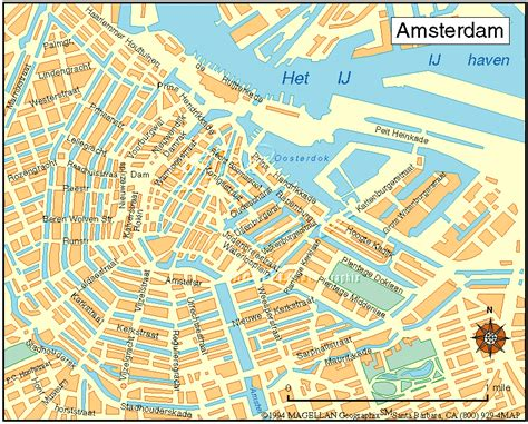 Maps: Street Map Amsterdam