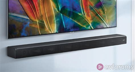 samsung sound hw ms650 one bar soundbar review avforums