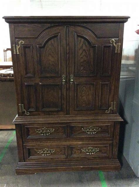 drexel armoire drexel heritage wooden armoire