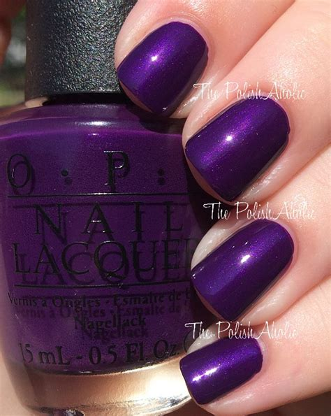 opi purple colors best 25 purple nail ideas on fall nail