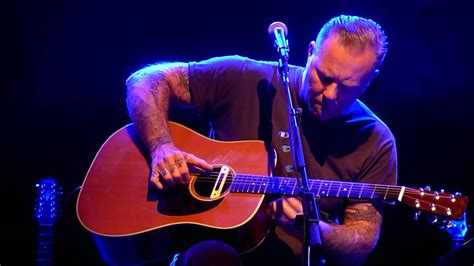 nothing else matter acoustic hetfield performing quot nothing else matters