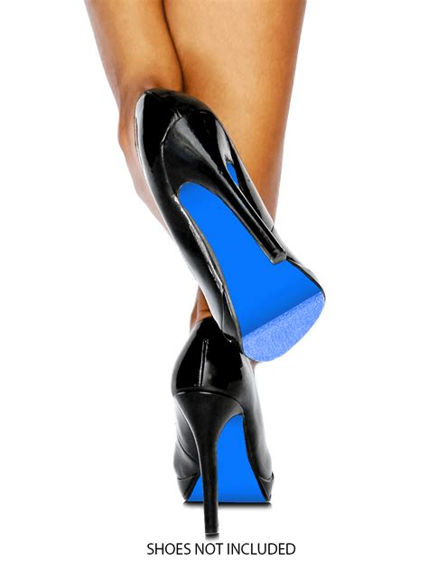 who makes soled high heels azure royal blue colored shoe sole covering for your own